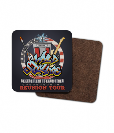 Bill and Ted Wyld Stallyns Be Excellent To Each Other Reunion Tour Single Coaster